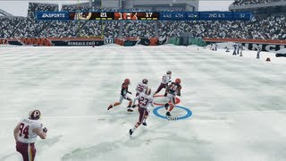 Download Just Call Me the Comeback Kid | Snow Game - Madden 13 Online Gameplay (Bengals vs Redskins) Video