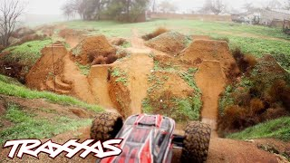 Download Aerial R/C Assault Part 2 - Traxxas E-Revo Dirt Jumping Session Video