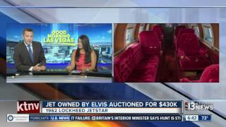 Download Jet owned by Elvis sells for $430K Video