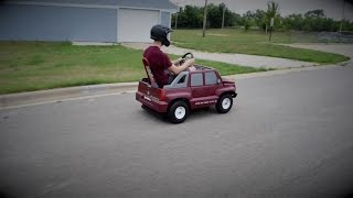 Download 40 MPH Gas Power Wheels Video