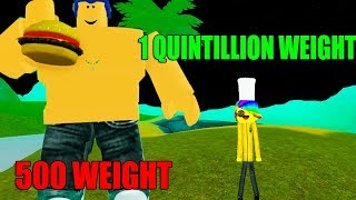 Download ROBLOX EATING SIMULATOR *1 QUINTILLION WEIGHT!* Video