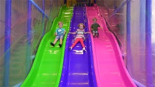 Download Fun Indoor Playground for Kids and Family at Bill & Bull's Lekland Video