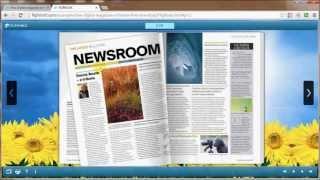 Download Flip html5 - free digital magazine software to create online html5 flip magazine Video