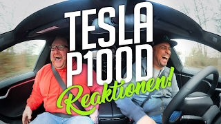 Download JP Performance - Tesla P100D | Reaktionen! Video