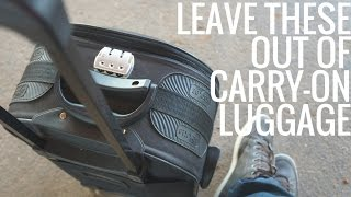 Download 5 Things Not to Pack in Your Carry-On Luggage Video