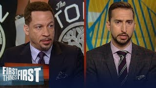 Download D'Angelo Russell is a 'good fit' with the Warriors - Chris Broussard   NBA   FIRST THINGS FIRST Video