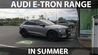 Download Audi e-tron summer range test Video