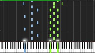 Download Adagio In D Minor - John Murphy [Piano Tutorial] (Synthesia) Video