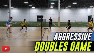 Download Badminton Tips - Aggressive Doubles Game - Coach Andy Chong Video
