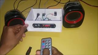 Download How to convert a Home Theater to wireless ( Bluetooth with USB & FM ) Video