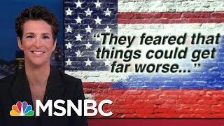 Download Russian Election Hacks Took US To Brink Of Cyberwar: Report | Rachel Maddow | MSNBC Video