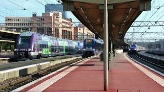 Download Gare SNCF Lyon Part Dieu Station TGV, TER & Fret +80 trains! Video