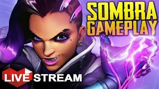 Download Overwatch Sombra Gameplay | BEST PATCH EVER! | Live Stream 60fps Video