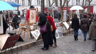 Download Montmartre and Pigalle, Paris, France Video