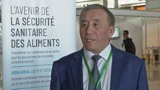Download Choduev Erkinbek at the First International Food Safety Conference. Video