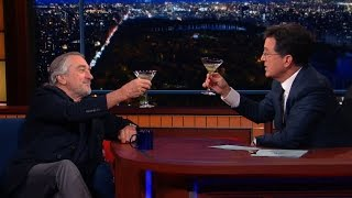 Download Robert De Niro Enjoys A Cold Martini And Silence, Full Interview Video