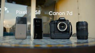 Download Camera Comparison: Galaxy S8 vs Pixel vs DSLR! Video