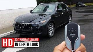 Download 2017 Maserati Levante SUV In Depth Walkaround Startup Interior Exterior Trunk Engine Video