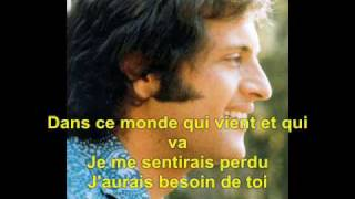 Download Et Si Tu N'Existais Pas - Joe Dassin Lyrics Video