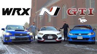 Download 2019 Veloster N vs Golf GTI vs Subaru WRX // The $30K Question Video