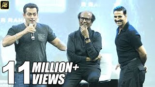 Download Salman Khan's BEST Praise For Rajnikanth & Akshay Kumar In Robot 2.0 Movie Video
