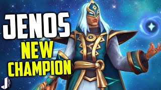 Download JENOS PALADINS NEW CHAMPION - Aggressive Support with Kamehameha Ultimate! Video