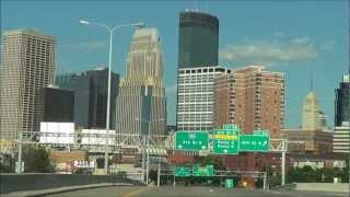 Download Urban Driving: Downtown Minneapolis via I-394 Video