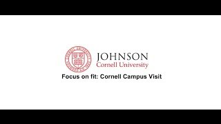 Download Should you apply to Johnson at Cornell University MBA programs? Video