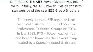 Download A Condensed History of IEEE and PES Video