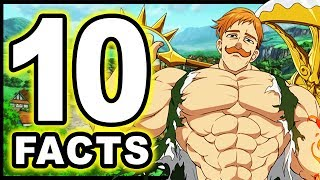 Download Top 10 Escanor Facts You Didn't Know! (Seven Deadly Sins / Nanatsu no Taizai) Video