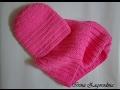 Download Шапка,снуд спицами -розовая нежность.Вязание спицами для детей Knitting Video