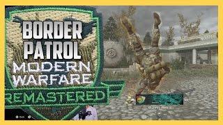 Download BORDER PATROL on Modern Warfare Remastered - Overgrown + CoD4 Old School Mode = Slaughter Video