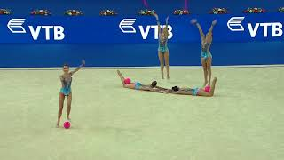 Download U.S. Group - 3 Balls/2 Ropes - 2017 World Rhythmic Gymnastics Championships - Group Competition Video