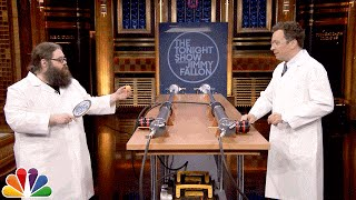 Download Kevin Delaney and Jimmy Fallon Launch a Ping Pong Ball at 920 MPH Video