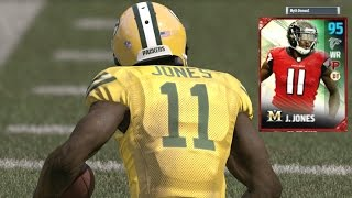 Download 95 OVR Julio Jones AND OBJ ON THE SAME TEAM! WHO STOPS THEM BOTH? Madden 17 Ultimate Team Gameplay Video
