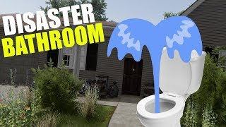 Download Bathroom Disaster! - House Flipper Beta Gameplay - Second House Flip Video
