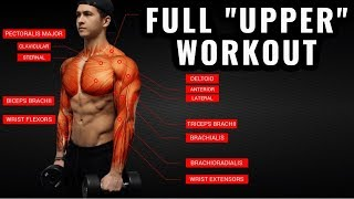 Download The Best Science-Based Upper Body Workout for Growth (Chest/Back/Arms/Shoulders) Video