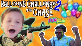 Download CHASE & PAPA CANDY BALLOON GUN CHALLENGE w/ OFFICE BUFF AND THE FUNKEE BUNCH!!! Video