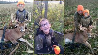 Download Kids Emotional Reaction After Shooting Big Buck! First Deer Ever with Crossbow (Whitetail) Video