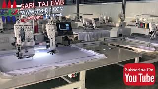 Download SARL TAJ EMB. المكنة TAJ1201+1 الجديدة كليا Video