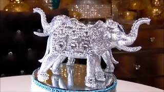 Download DIY - DOLLAR TREE SILVER BLING ELEPHANT - MOTHERS DAY GIFT IDEA Video