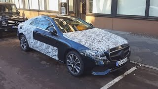 Download 2017 Mercedes E Class Coupe Review - NEW Interior LOOK Exterior Spotted In Germany Impressions Video