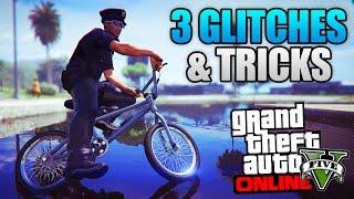 Download GTA 5 ONLINE - 3 NEW GLITCHES & TRICKS! (Hover Glitch, Super Launch Glitch & Secret Location) Video