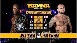 Download BAMMA 34: Alex Lohore vs Terry Brazier Video