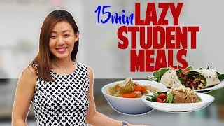 Download Lazy Student Meals in 15 Minutes | Healthy, Cheap, Fast | Joanna Soh Video