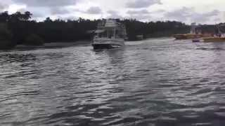Download Pontoon Boat Flipping Over Video