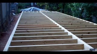 Download Construction of Project 'Mega Shed' Part 4: Building the Subfloor Framing Video