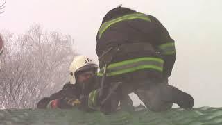 Download Полтава: рятувальники ліквідували пожежу у торгівельному павільйоні Video