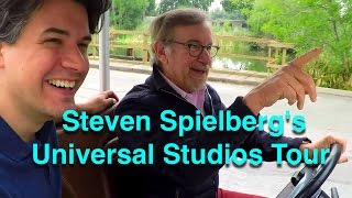 Download Steven Spielberg Gives A Tour of Universal Studios - Behind The Scenes of Movie Magic Video