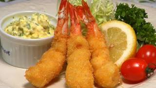 Download How to Make Ebi Fry (Deep Fried Breaded Prawn Recipe) | Cooking with Dog Video